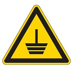 Предупреждающий знак безопасности BRADY gws251953