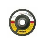 5212207 DRONCO perfect G-A80 шлифовальный круг лепестковый, сталь, дерево 125х22,23