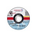 1121340 DRONCO AS 60T INOX Free Cut отрезной круг по металлу 125х2/1х22,23
