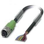 Кабель для датчика / исполнительного элемента - SAC-12P- 5,0-PVC/FS SCO - 1554872 Phoenix contact