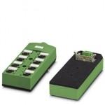 Коробка датчика и исполнительного элемента - SACB-8/8-L-PUR SCO FLK14/MCV3P - 1547928 Phoenix contact