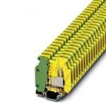 Клемма защитного провода - MBK 3/E-Z-PE - 1413117 Phoenix contact
