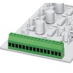 Клеммные блоки для печатного монтажа - MKDS 3/ 8-5,08 - 1712708 Phoenix contact