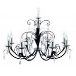 Люстра ARTE Lamp A1742LM-8BK ROMANA
