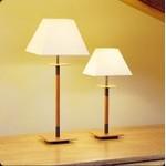 Настольная лампа Bover LUA MESA 2122960 Темный никель