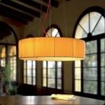 Подвесной светильник Bover TEKNO CP 4118858 Никель-кремовая лент