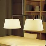 Подвесной светильник Bover LUA 2 LUCES 4222904 Черное железо