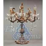 Настольная лампа ELITE BOHEMIA S 852/3/01 Pt
