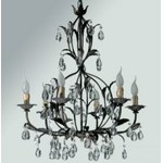 Люстра Tredici Design 1300G.6 черный