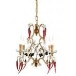Люстра Tredici Design 1369.4F золотой