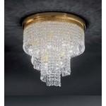 Потолочный светильник Voltolina Spiral Twister 40 H 35 Oro