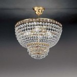 Потолочный светильник Voltolina AMSTERDAM Sospensione 50 Oro