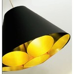 Светильник потолочный Dark LGTM-X01 susp. black/gold