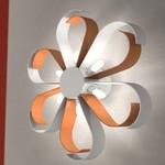 Светильник настенный Florian Nice /80 SOFFITTO-PARETE / CEILING-WALL BIANCO-BIANCO-ARANCIO (F3.028)