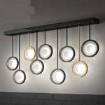 Светильник настенный Florian Circle L 9 PARETE / WALL LAMP CROMO PERLATO (F3.022)