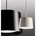 159007 10 Foscarini светильник подвесной Twiggy grande, стекловолокно, D 46см, Н 29-мах199см, 3x20W E27 fluo, белый