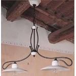 Светильник потолочныйImas 35832/2L 2 light scale chandelier with iron frame and plate/glossy white