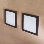 "71631 LineaLight ""Moderncollection"" светильник настенный, пескостр стекло, 27,5х27,5 см, 1хR7s 118mm 100W"