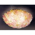 Светильник потолочный Voltolina Flora PL40 oro/flowers pastel color
