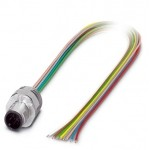 Встраиваемые разъемы - SACC-EC-MS-8CON-M16/0,5 SCO - 1523502 Phoenix contact