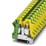 Заземляющие клеммы для выполнения проводки в зданиях - UTI 16-PE - 3073830 Phoenix contact