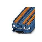 3205051 Phoenix contact  QTC 1,5-TWIN BU  Проходные клеммы