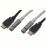 Кабель для FULL HD 3D TV Видео Ethernet HDMI-Plug. Цвет: черный/белый. Длина: 1,5м.  Арт. HDSET11-531