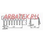 КР1533ТР2 микросхема