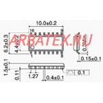 ЭКФ1533СП1 микросхема