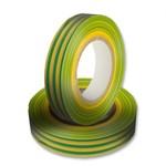 Изолента. ПВХ.20м. Цвет: желтый/зеленый