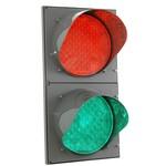 Двухсекционный светодиодный светофор Т.8.2 -  d 300 мм