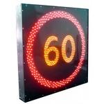 """Табло светодиодное """"Ограничение максимальной скорости"""" ОМС-80 (ограничение-80 км/ч)"""