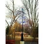 Ветрогенератор маглев 400Вт 12/24В вертикальный AXIS