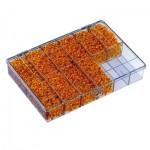 0335900000 WEIDMULLER  Пустая коробка  SK 12 из полистирола c 12-ю отделениями для маркировки PA1/3