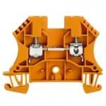 1036760000 WEIDMULLER  Клеммная колодка винтовая WDU 4 OR оранжевая