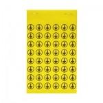 1685690002 WEIDMULLER  Маркировка символ заземления SYMBOL-PACK 14X14 VARIANTEN