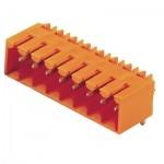 1605090000 WEIDMULLER  Вилка SL 3.5/4/90G3.2SN OR для монтажа на печатную плату