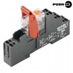 8897230000 WEIDMULLER  Реле интерфейсное RCIKITP 24VDC 2CO LD/PB