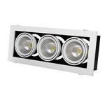 Grazioso 3 LED 30 встраиваемые светильники