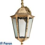 Светильник садово-парковый, 100W 230V E27 черное золото, 6202
