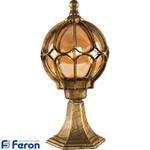 Светильник садово-парковый, 60W 230V E27 черное золото, IP44, PL3704