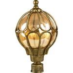 Светильник садово-парковый, 60W 230V E27 черное золото, IP44, PL3705