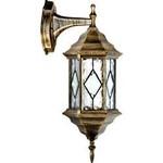 Светильник садово-парковый, 60W 230V E27 черное золото, PL121