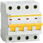 Выключатель автоматический 4р  ВА 47-29   3 А