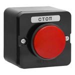 Пост кнопочный ПКЕ 212-1   У3 красный гриб IP40  (карболит)  ГОСТ