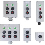 Пост кнопочный ПКУ-15-21.131-54У2(СКЛ11,220В,зел.+СКЛ11,220В,кр.+ПЕ021/2)