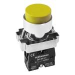 Кнопочный выключатель LAY5-BL51             желтый      1з