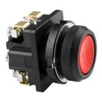 Выключатель кнопочный КЕ 011/4 красный   1з, карболит