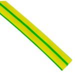 Трубка термоусаживаемая ТУТ  20/10    желто-зеленый