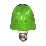 Маяк проблесковый ксенон OVOEX230240A4 зеленый 230/240В IP65, патрон Е-27 (31394)